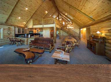 Custom Wood Products for the Log Home of your Dreams