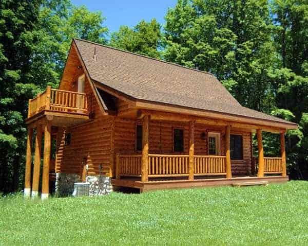 Skyline Woods – Log Siding & Knotty Pine Paneling